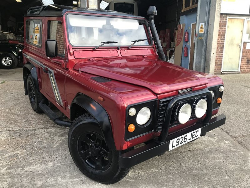 used Land Rover Defender 90 TDI STATION WAGON in cranleigh-surrey
