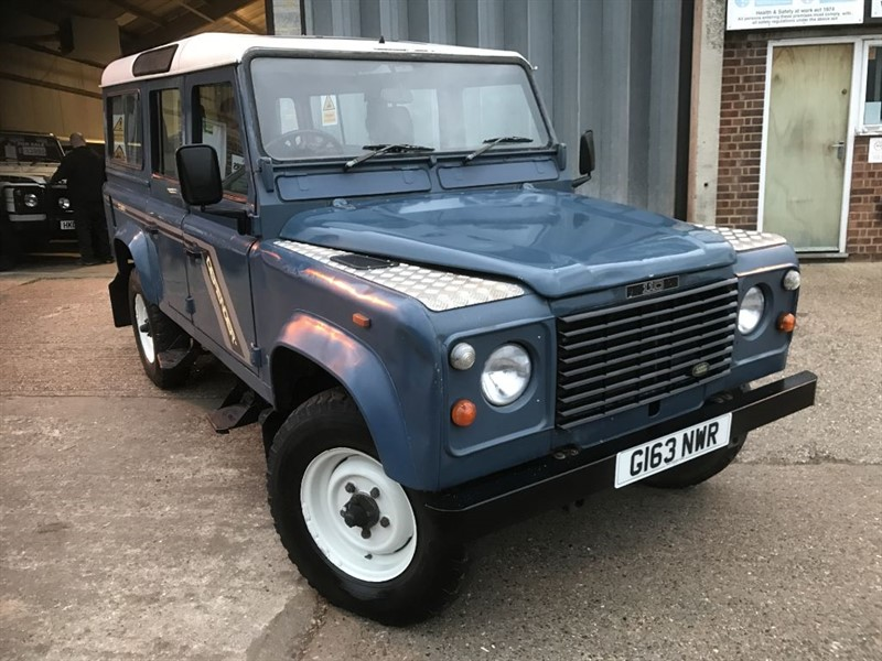 used Land Rover Defender 110 4CYL COUNTY SW DT in cranleigh-surrey