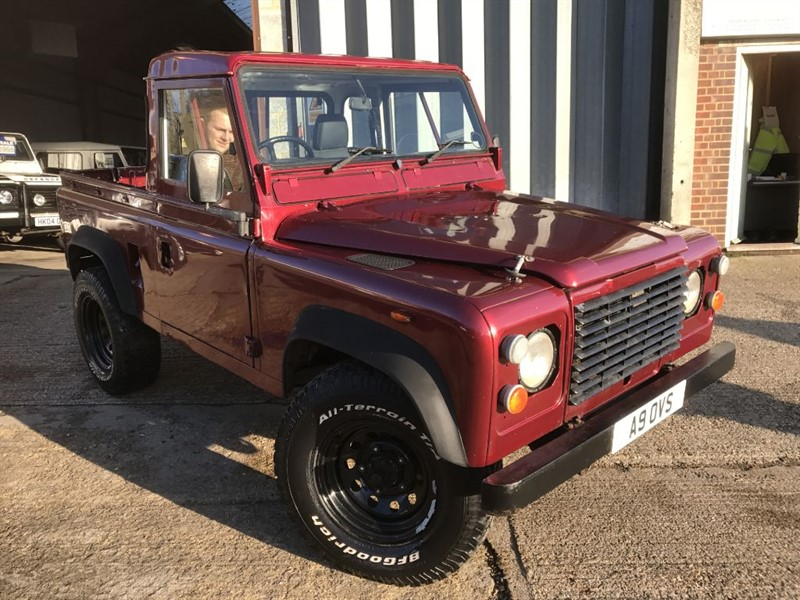 used Land Rover Defender 90 4CYL REG in cranleigh-surrey