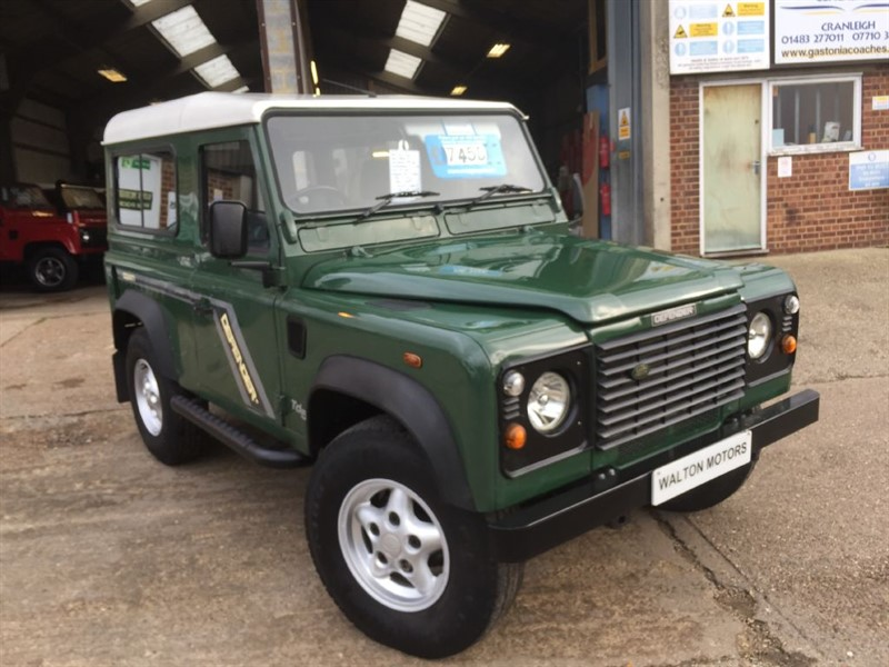 used Land Rover Defender 90 TD5 STATION WAGON in cranleigh-surrey