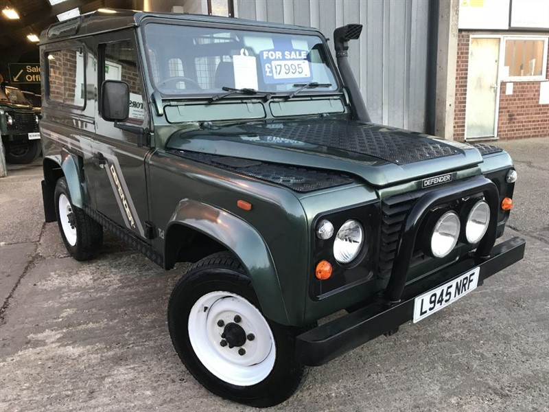 used Land Rover Defender 90 200 tdi genuine county station wagon in cranleigh-surrey
