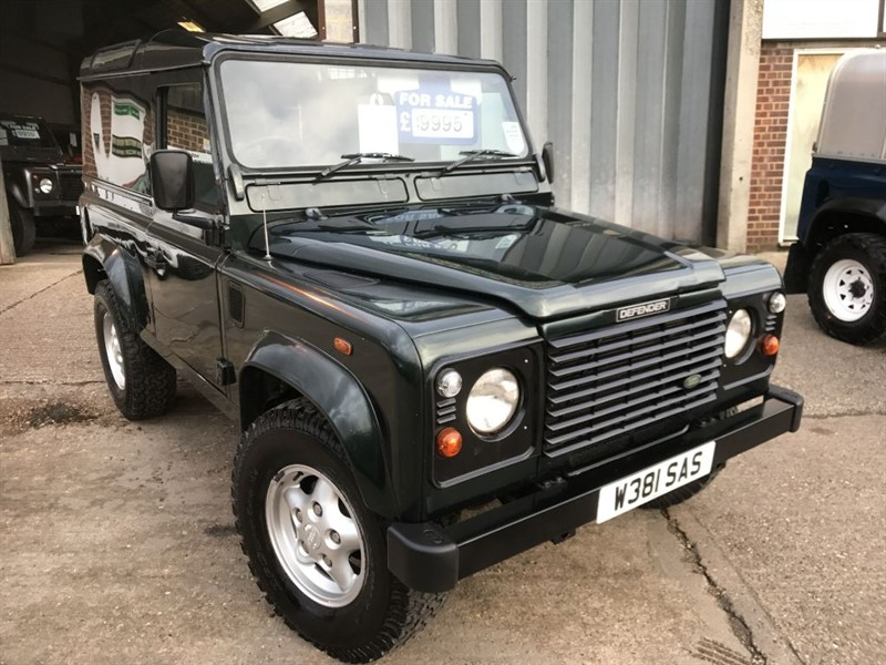 used Land Rover Defender 90 COUNTY HARD-TOP TD5 in cranleigh-surrey