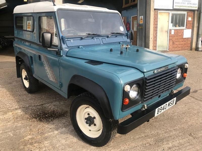 used Land Rover Defender 90 4CYL REG in cranleigh-surrey