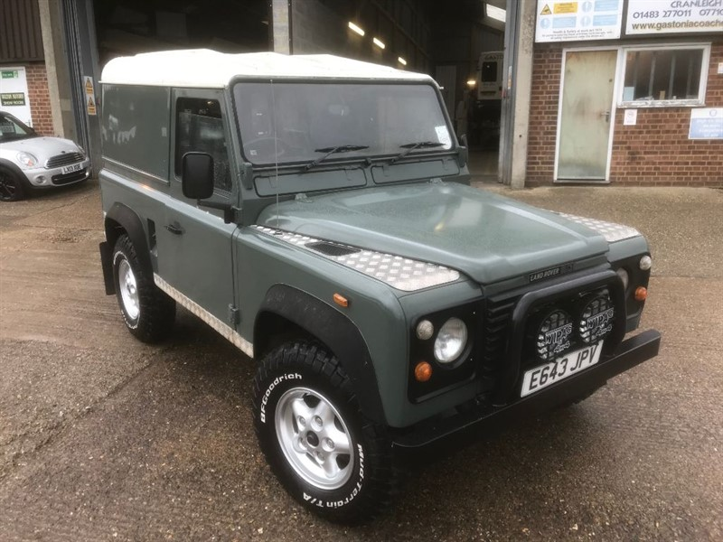 used Land Rover Defender 90 Hard top 200Tdi Galvanized chassis in cranleigh-surrey