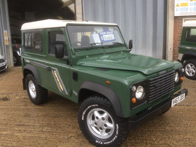 used Land Rover Defender 90 TD5 STATION WAGON STLYE in cranleigh-surrey