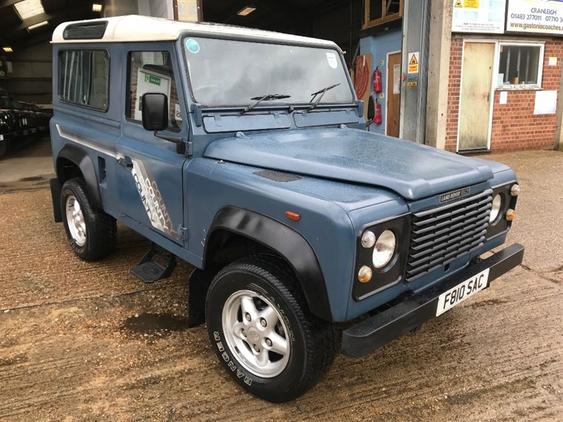 used Land Rover Defender 90 4CYL COUNTY SW DT in cranleigh-surrey