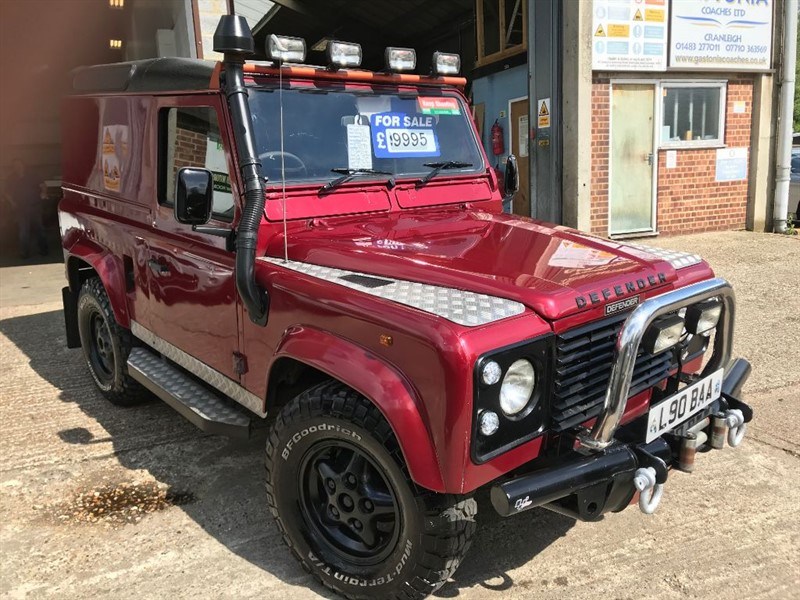 used Land Rover Defender 90 COUNTY HT TDI in cranleigh-surrey