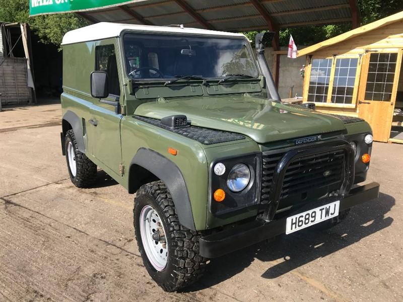 used Land Rover Defender 90 TDI HARD TOP in cranleigh-surrey