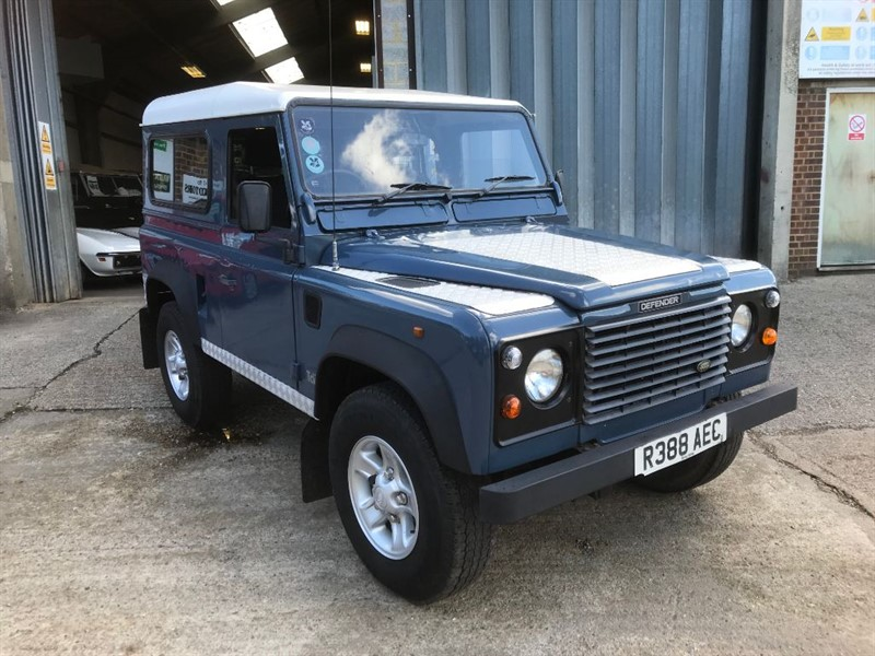 used Land Rover Defender 90 300Tdi Station wagon in cranleigh-surrey