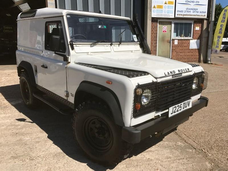 used Land Rover Defender 90 TDI COUNTY HARD TOP in cranleigh-surrey