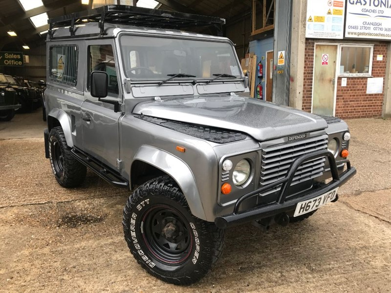 used Land Rover Defender 90 TDI COUNTY STYLE in cranleigh-surrey