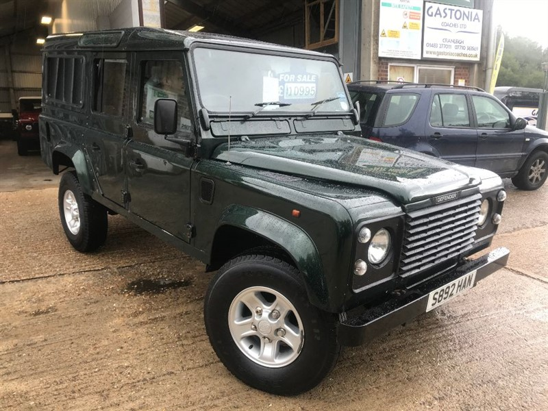 used Land Rover Defender 110 COUNTY SW 12S TDI in cranleigh-surrey