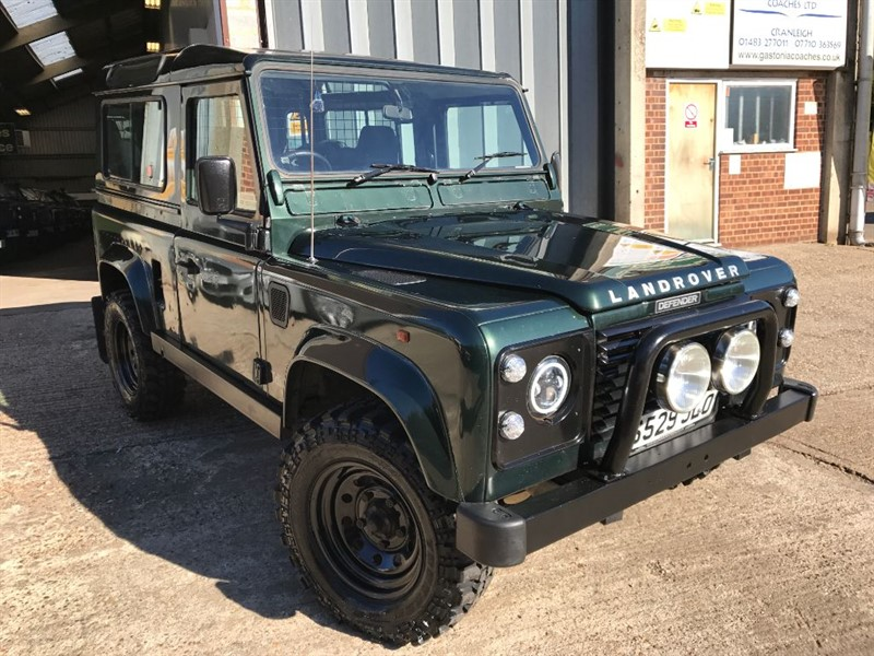 used Land Rover Defender 90 COUNTY STATION WAGON in cranleigh-surrey