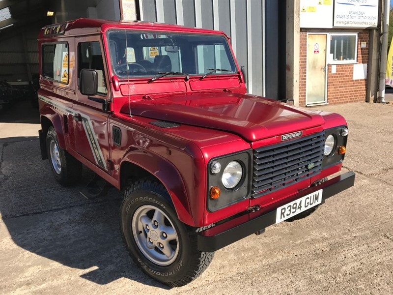 used Land Rover Defender 90 COUNTY STATION WAGON TDI in cranleigh-surrey