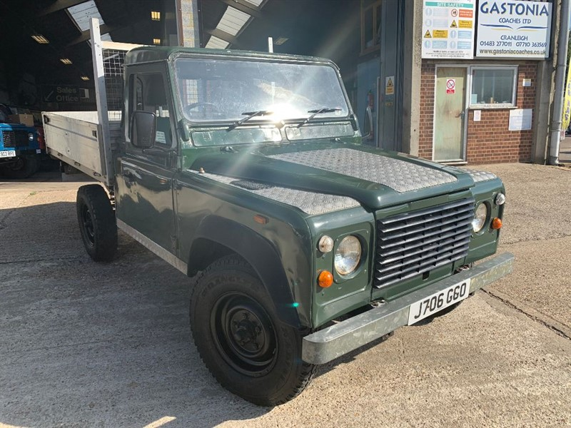 used Land Rover Defender 110 PICK UP TDI in cranleigh-surrey