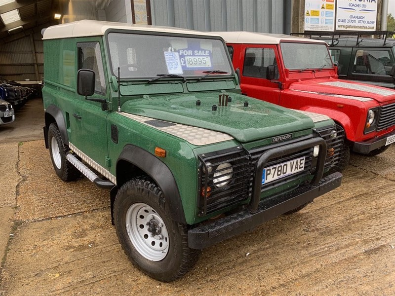 used Land Rover Defender 90 HT TDI in cranleigh-surrey