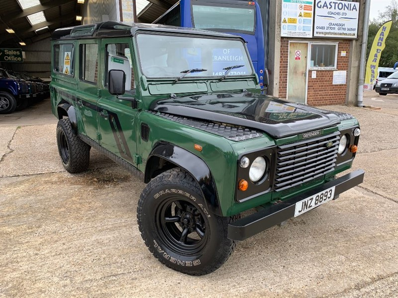 used Land Rover Defender 110 STATION WAGON TD5 in cranleigh-surrey