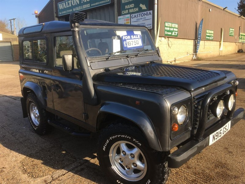 used Land Rover Defender 90 300 TDI COUNTY STATION WAGON STYLE in cranleigh-surrey