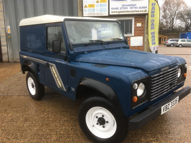 used Land Rover Defender 90 last of the 300 tdi engines in cranleigh-surrey