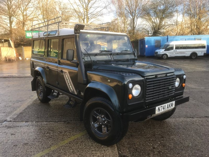 used Land Rover Defender 110 300 TDI COUNTY STATION WAGON in cranleigh-surrey