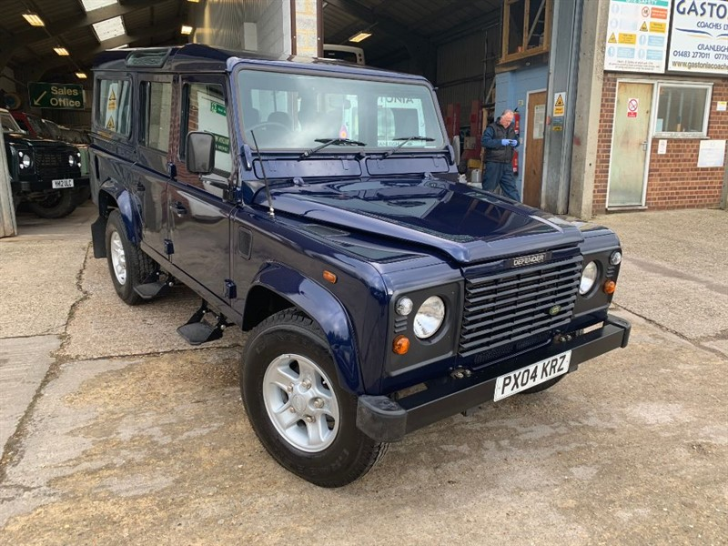 used Land Rover Defender 110 TD5 COUNTY STATION WAGON in cranleigh-surrey