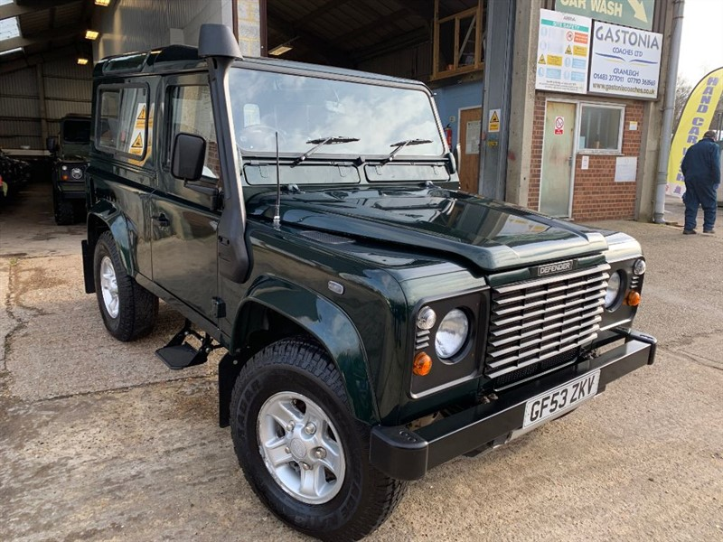 used Land Rover Defender 90 TD5 COUNTY STATION WAGON in cranleigh-surrey