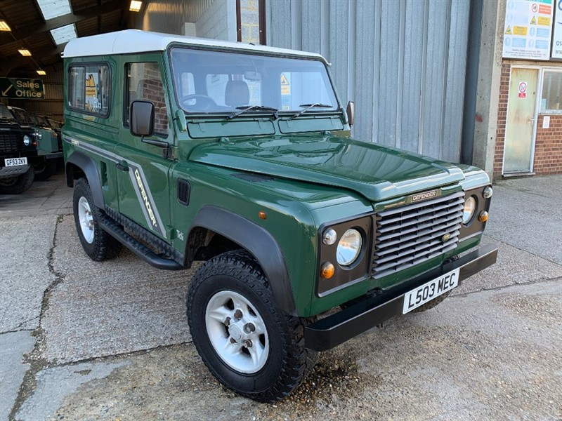 used Land Rover Defender 90 300 TDI STATION WAGON in cranleigh-surrey