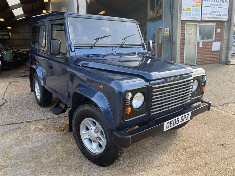 used Land Rover Defender 90 STATION WAGON TD5 in cranleigh-surrey