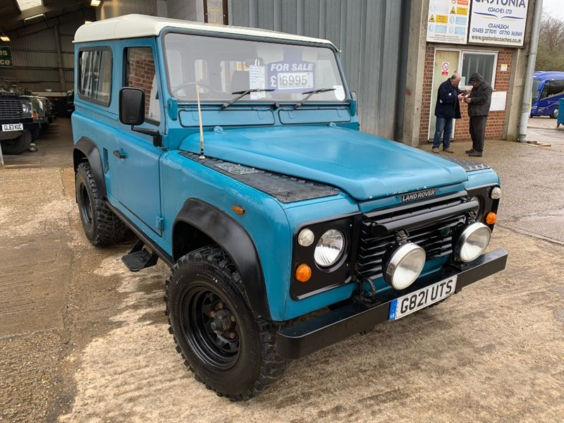 used Land Rover Defender 90 4CYL HT DT in cranleigh-surrey