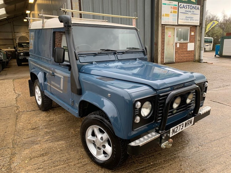 used Land Rover Defender 90 HT TDI **GALVANISED CHASSIS** in cranleigh-surrey