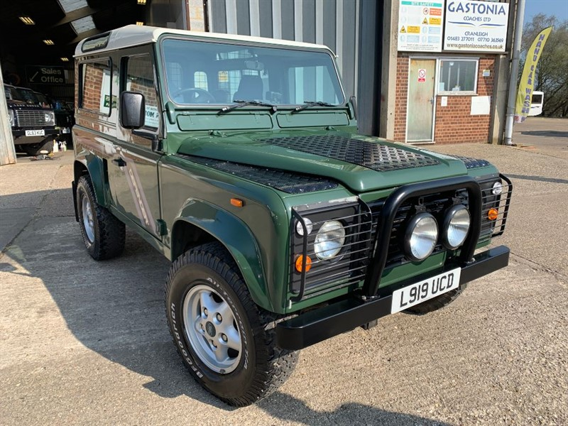 used Land Rover Defender 90 COUNTY SW TDI **USA EXPORTABLE** in cranleigh-surrey