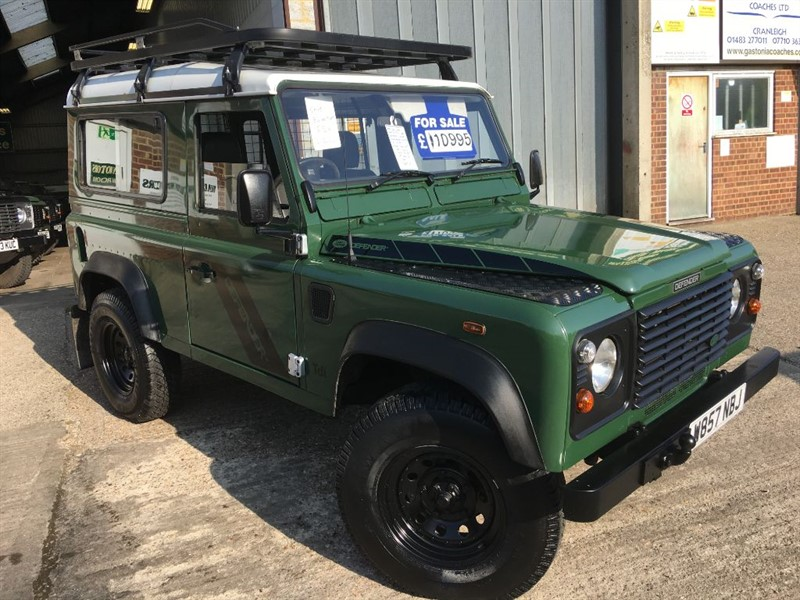 used Land Rover Defender 90 TD5 STATION WAGON ONLT 86000 MILES FSH in cranleigh-surrey