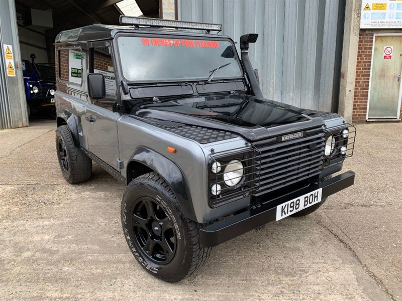 used Land Rover Defender 90 TDI COUNTY **U.S.A EXPORTABLE** in cranleigh-surrey