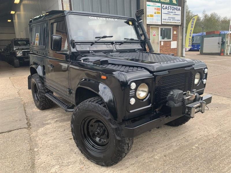 used Land Rover Defender 90 TDI COUNTY **U.S.A EXPORTABLE** in cranleigh-surrey