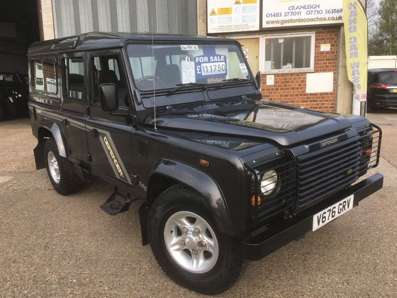 used Land Rover Defender 110 COUNTY S/W TD5 in cranleigh-surrey