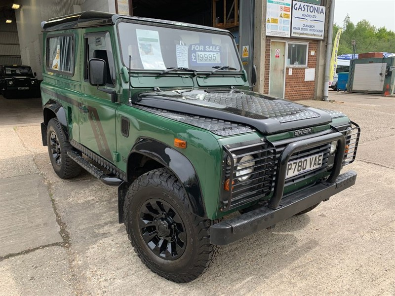 used Land Rover Defender 90 COUNTY STYLE TDI in cranleigh-surrey