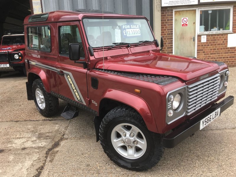 used Land Rover Defender 90 COUNTY S/W TD5 in cranleigh-surrey