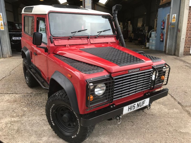 used Land Rover Defender 90 TDI HT in cranleigh-surrey