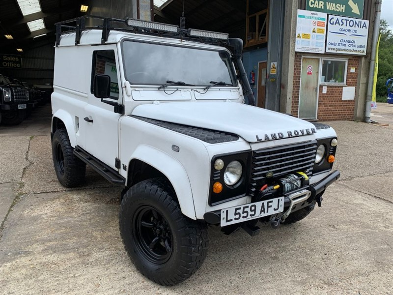used Land Rover Defender 90 TDI HT **GALVANISED CHASSIS FITTED** in cranleigh-surrey