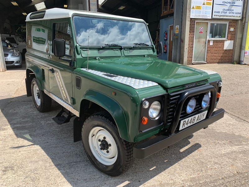 used Land Rover Defender 90 COUNTY HT TDI **REAR WINDOWS CAN BE FITTED** in cranleigh-surrey
