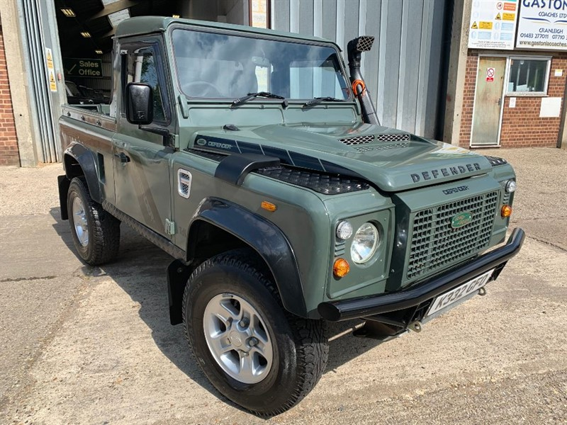 used Land Rover Defender 90 TDI PICK UP **U.S.A EXPORTABLE** in cranleigh-surrey