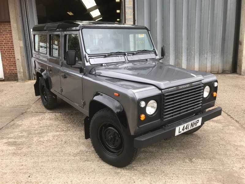 used Land Rover Defender 110 COUNTY 200 TDI USA EXPORTABLE in cranleigh-surrey