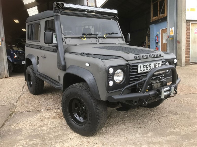 used Land Rover Defender 90 300TDI USA Exportable in cranleigh-surrey