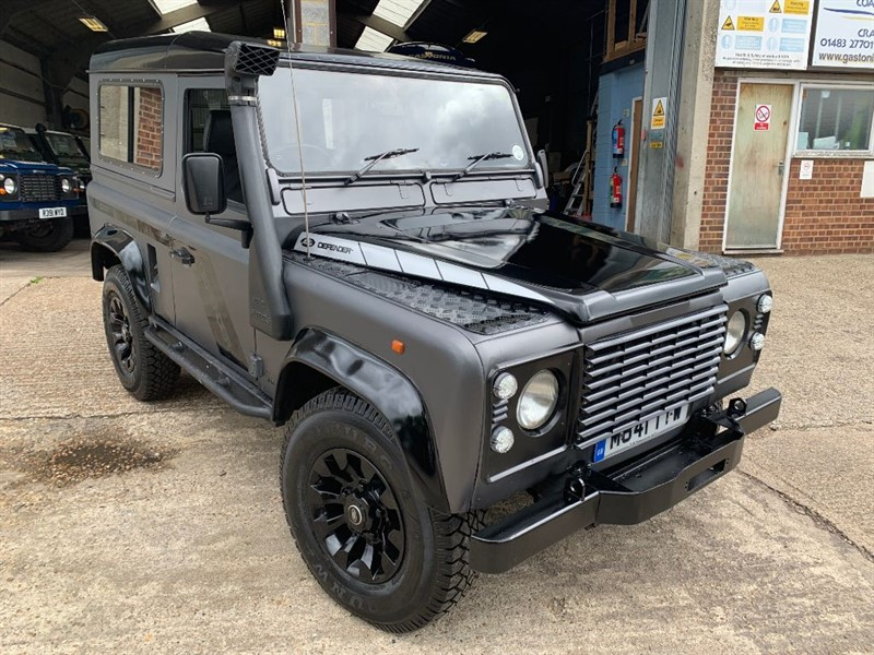 used Land Rover Defender 90 TDI COUNTY STYLE **U.S.A EXPORTABLE** in cranleigh-surrey
