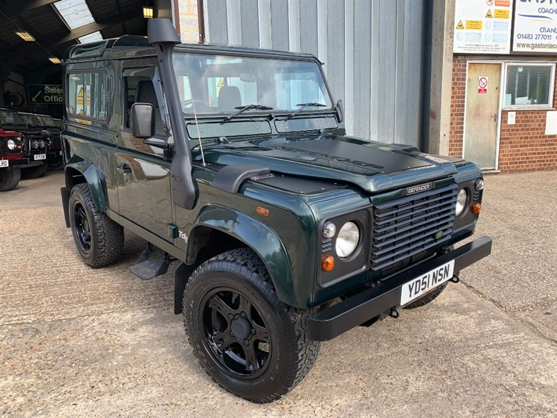 used Land Rover Defender 90 COUNTY STYLE TD5 in cranleigh-surrey