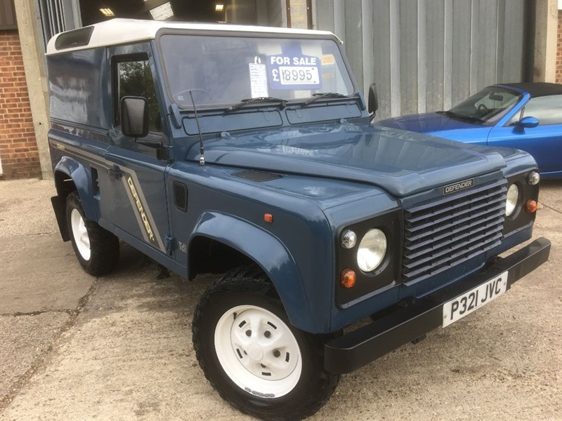 used Land Rover Defender 90 300 tdi county van model in cranleigh-surrey