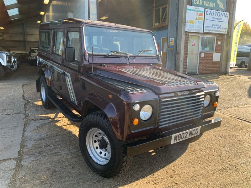 used Land Rover Defender 110 COUNTY SW 12S TDI **U.S.A EXPORTABLE** in cranleigh-surrey