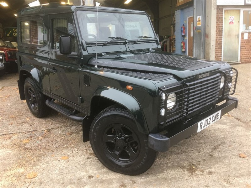 used Land Rover Defender 90 td5 county station wagon only 111000 miles in cranleigh-surrey