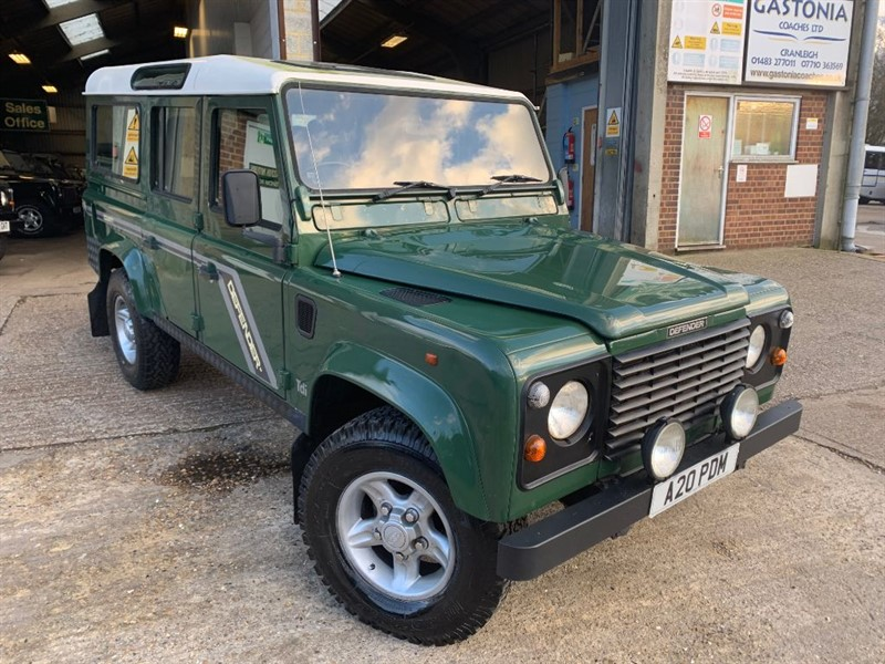 used Land Rover Defender 110 COUNTY SW 10S TDI in cranleigh-surrey