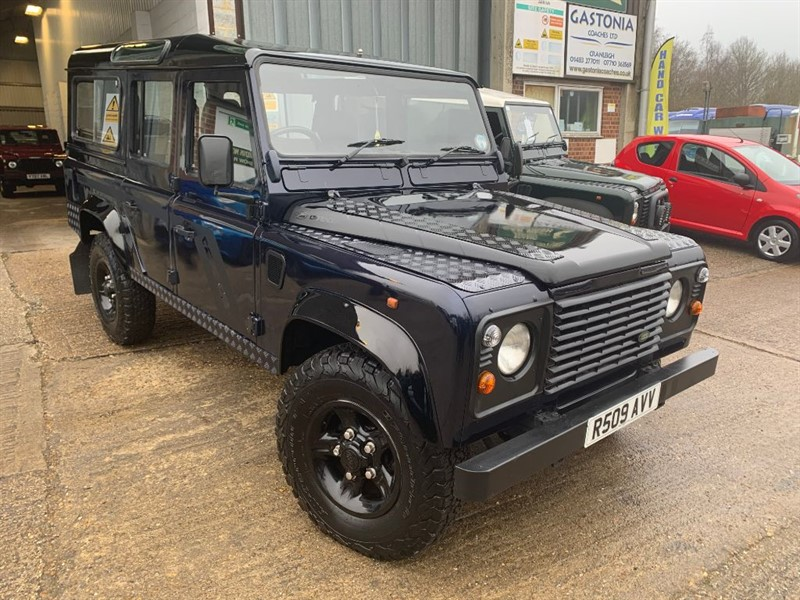 used Land Rover Defender 110 SW TDI in cranleigh-surrey